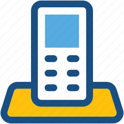 communication, cordless phone, phone, transceiver, walkie talkie icon