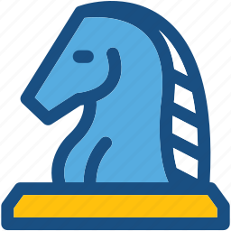 chess, chess game, chess knight, chess piece, game icon