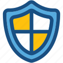 defence, honor, insignia, protection, shield badge icon