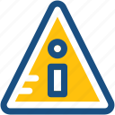 caution, exclamation, exclamation mark, hazard, warning icon