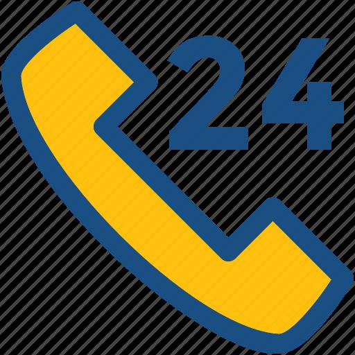 clock, customer service, full service, full time, helpline icon