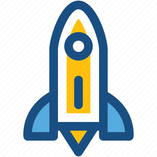 missile, rocket icon