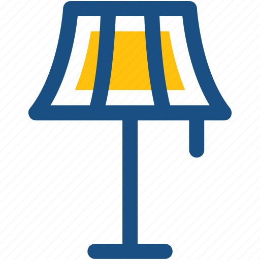 electronics, lamp, table lamp icon
