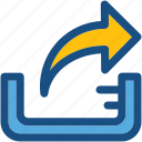 transfer arrow, transfer data, transmission, upload, uploading icon