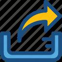 transfer arrow, transmission, uploading, upload, transfer data