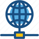 globe, internet server, internet share, global communication, internet