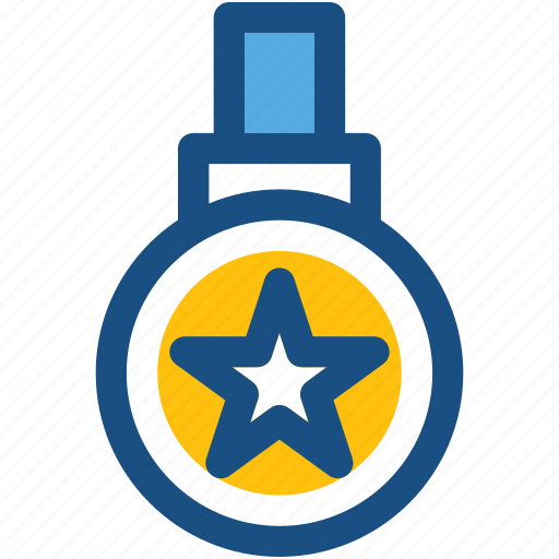 achievement, championship, medal, prize, star medal icon