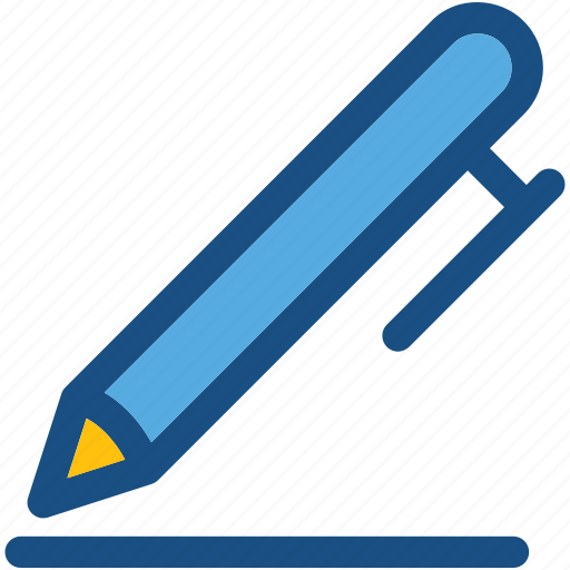 ball pen, ballpoint, pen, stationery, writing tool icon