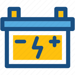 automotive battery, battery charging, car battery, truck battery, vehicle battery icon