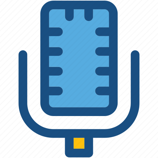 conically microphone, mic, microphone, recording, speak icon