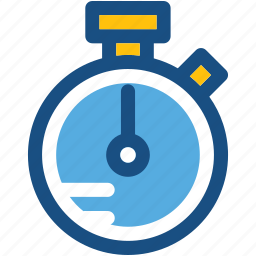 chronometer, stopwatch, timekeeper, timepiece, timer icon