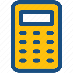 accounting, calculating, calculating device, calculator, mathematics icon