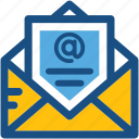 email, envelope, letter, letter envelop, message icon