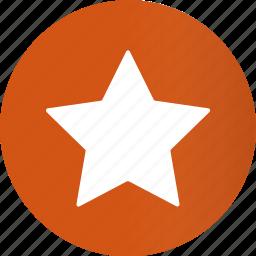 award, bookmark, circle, favorite, like, round, star icon