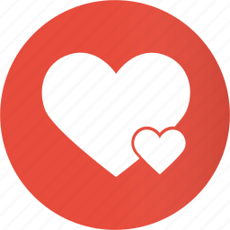 circle, favorite, favorites, favourite, heart, like, love icon