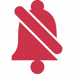 alarm, bell, danger, exclamation, mute, notification, warning icon
