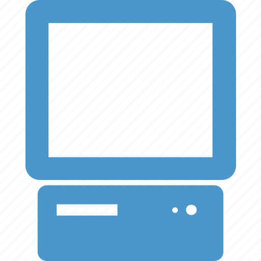 computer, desktop, hardware, monitor, old, pc, technology icon