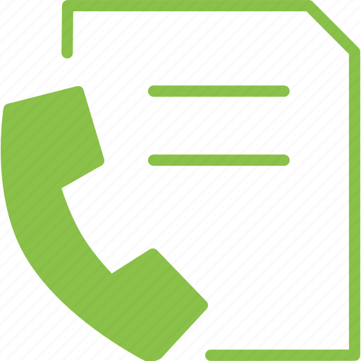 document, fax, paper, phone, sheet, telephone, text icon