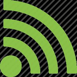 blog, communication, feed, news, publish, rss, share icon