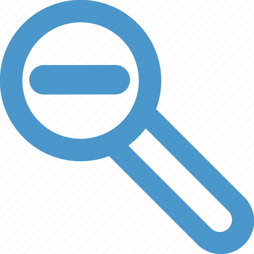 find, look, magnifier, magnifiyng, out, search, zoom icon