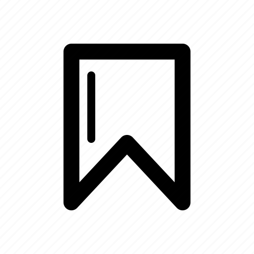 bookmark, pin, ui, web icon