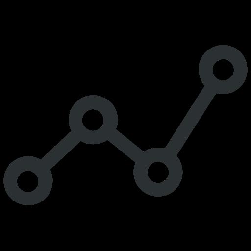 analytics, chart, graph, presentation icon icon