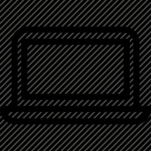 computer, device, laptop, macbook, monitor, screen icon