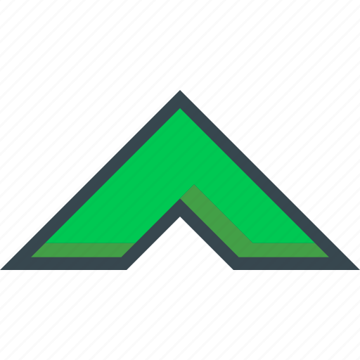 arrow, chevron, top, up, upward icon