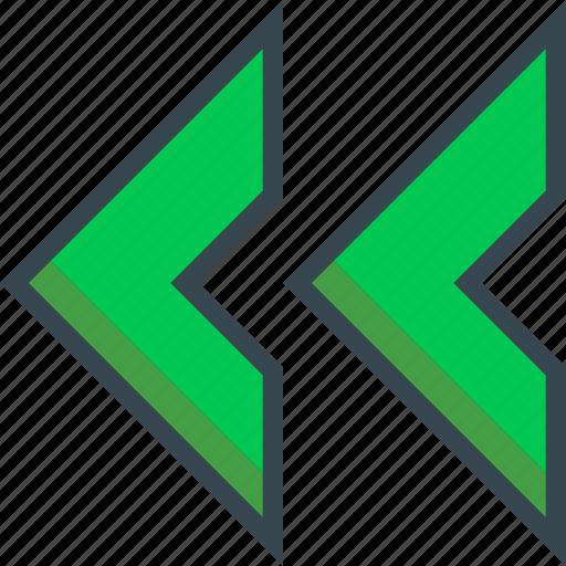 arrow, chevron, direction, double, navigation, next, right icon