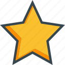 bookmark, favourite, like, rating, star icon