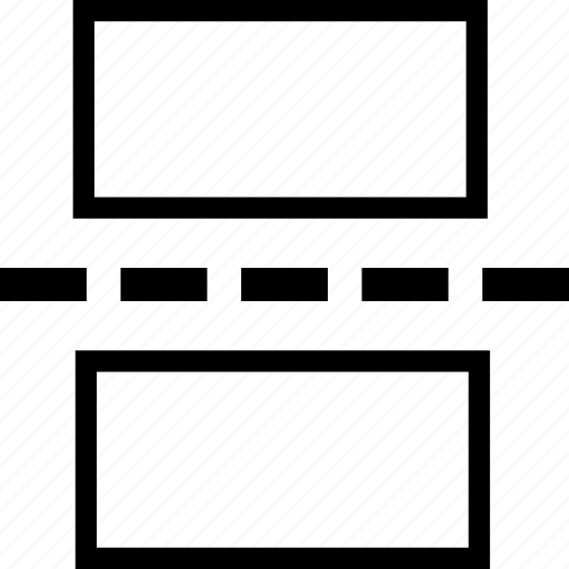 break, document, editor, horizontal, page, rule, text icon