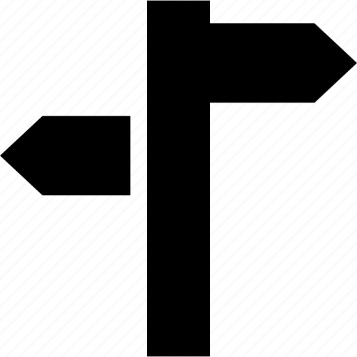 address, arrows, direction, signal icon