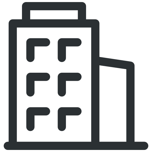 appartment, building, business, house, office icon icon