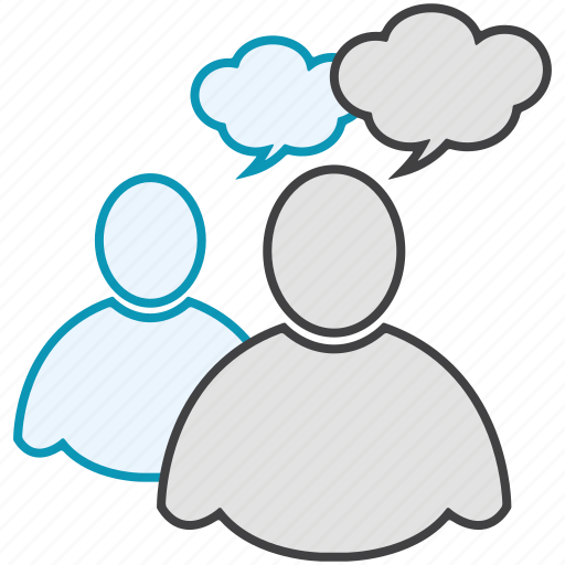 bubble, chatting, communication, man, profile, user icon