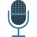 mic, microphone, recording, speech icon