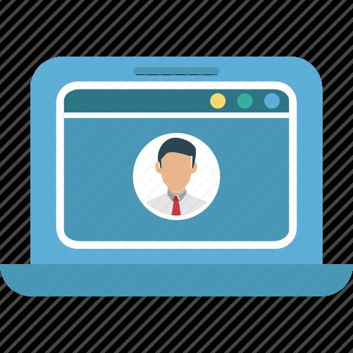 profile, profile popup, user, web profile icon