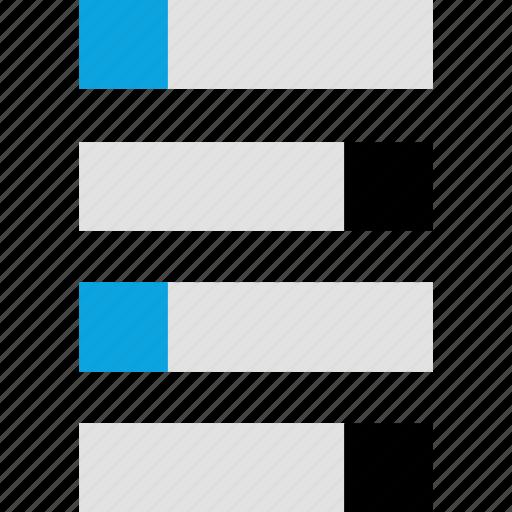 bars, data, graph, infographic icon