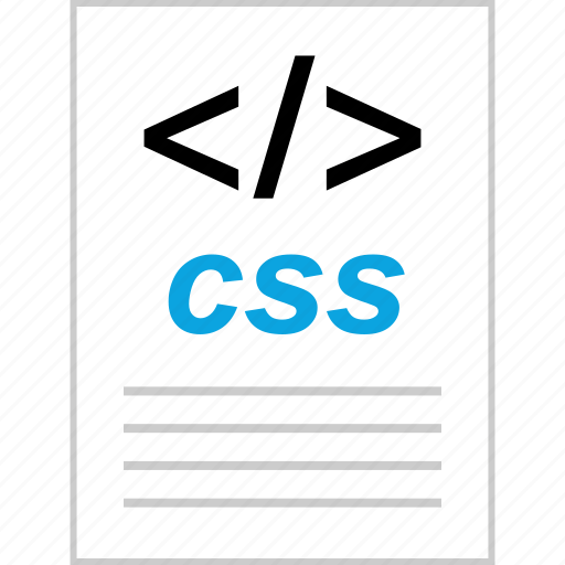 css, page, script, style icon