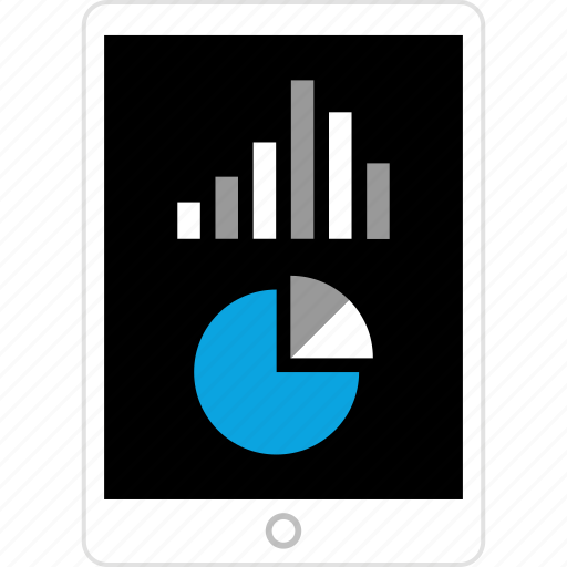 data, graphic, info, ipad icon