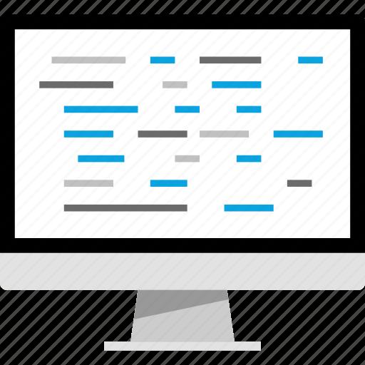 development, java, javascript, php icon