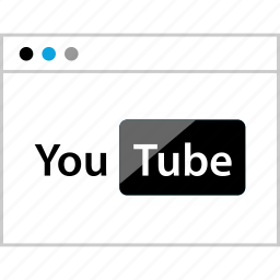 browser, video, web, youtube icon