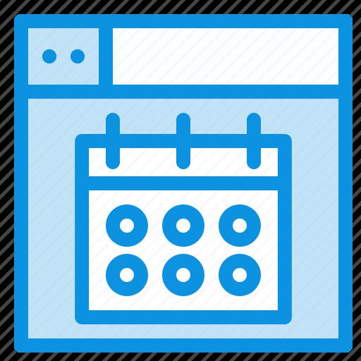 calendar, date, design, web icon