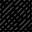 design, speaker, web icon