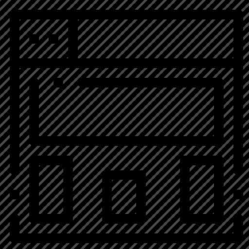 design, graphics, layout icon