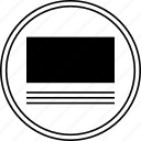 adjust, online, shift, website, wireframe icon