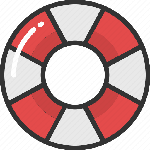 life belt, life buoy, life donut, life ring, ring buoy icon
