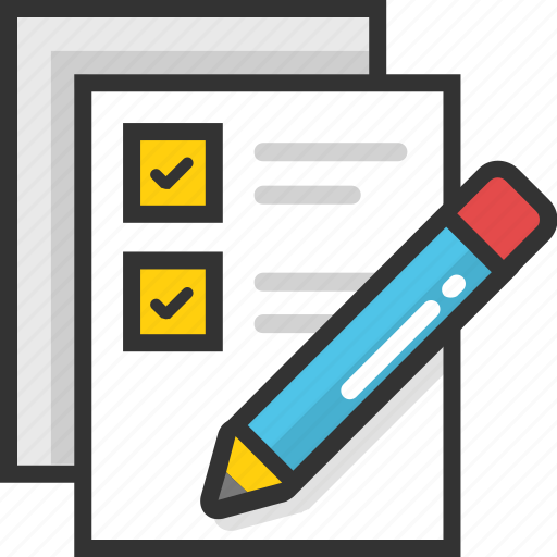 checklist, documents, list, schedule, task icon