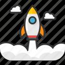 missile, rocket, space shuttle, spacecraft, spaceship