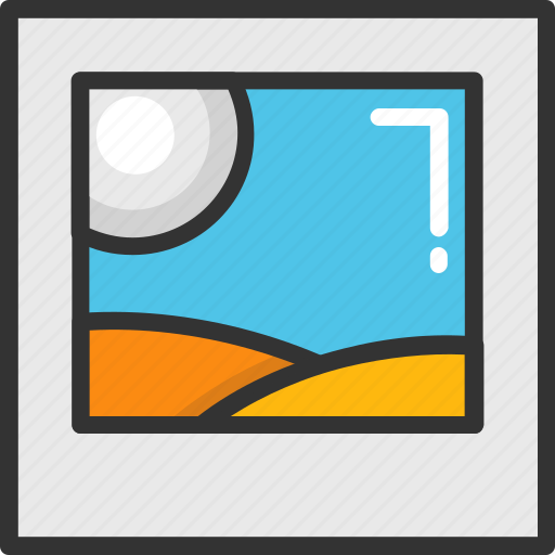 icon, jpg image, landscape, photo, thumbnail icon