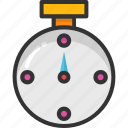 chronometer, countdown, pocket watch, stopwatch, timepiece icon